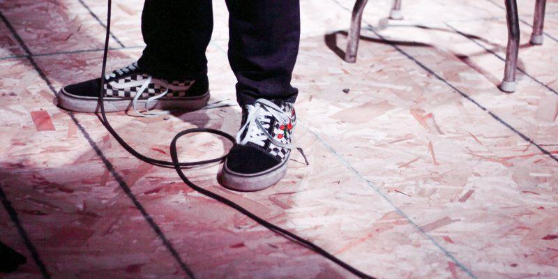 Paco Higdon's feet